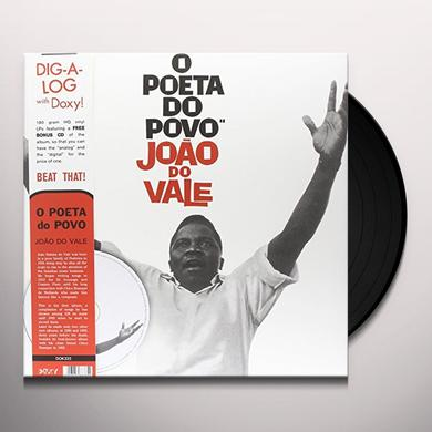 Joao Do Vale O POETA DO POVO Vinyl Record - w/CD