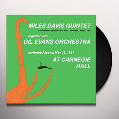 Miles Davis AT CARNEGIE HALL Vinyl Record