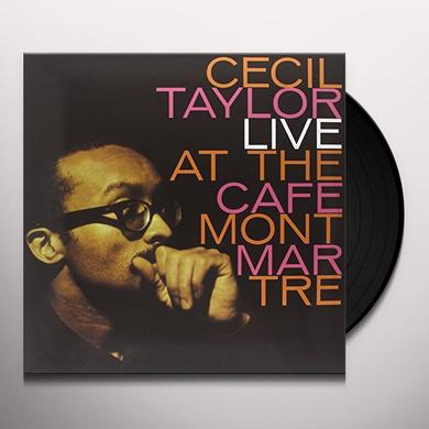 Cecil Taylor LIVE AT THE CAFE MONTMARTRE Vinyl Record