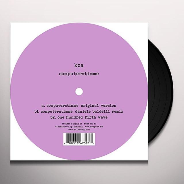 Kza COMPUTERSTIMME Vinyl Record