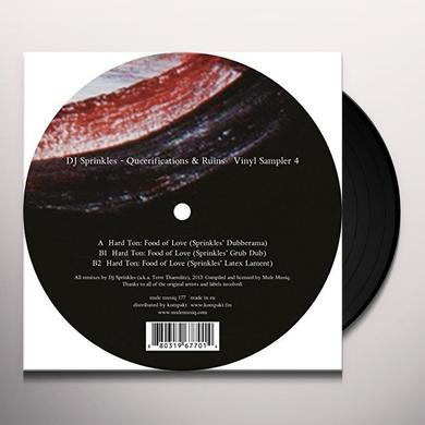 Dj Sprinkles QUEERIFICATIONS & RUINS 4 Vinyl Record