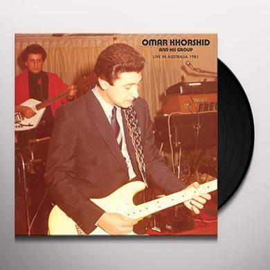 Omar Khorshid LIVE IN AUSTRALIA 1981 Vinyl Record