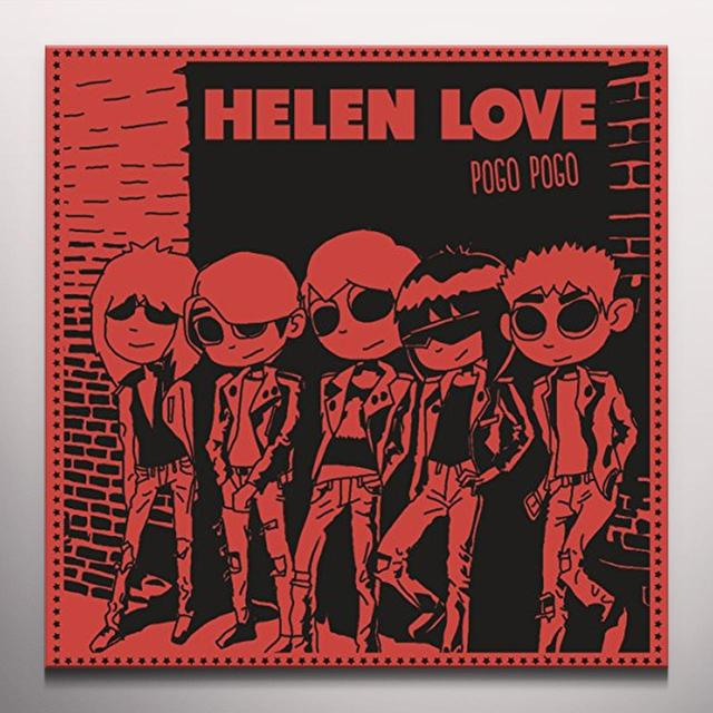 Helen Love POGO POGO Vinyl Record - Limited Edition, Red Vinyl, Digital Download Included