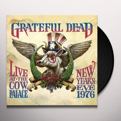 Grateful Dead LIVE AT THE COW PALACE-NEW YEARS EVE 1976 Vinyl Record - Limited Edition