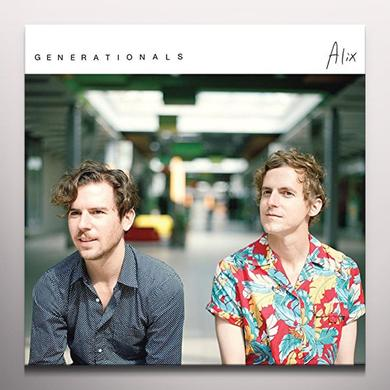 Generationals ALIX Vinyl Record - Colored Vinyl, Digital Download Included