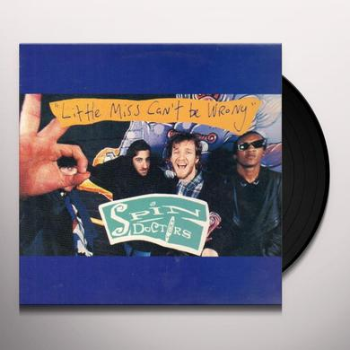 Spin Doctors LITTLE MISS CAN'T BE WRONG (LIVE EP) Vinyl Record