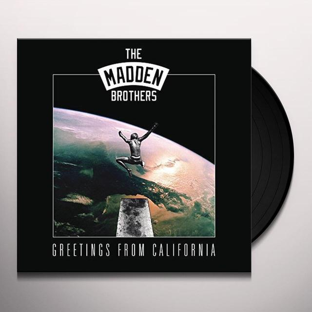 MADDEN BROTHERS GREETINGS FROM CALIFORNIA Vinyl Record
