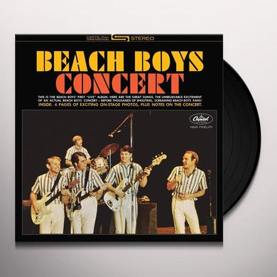 BEACH BOYS CONCERT Vinyl Record