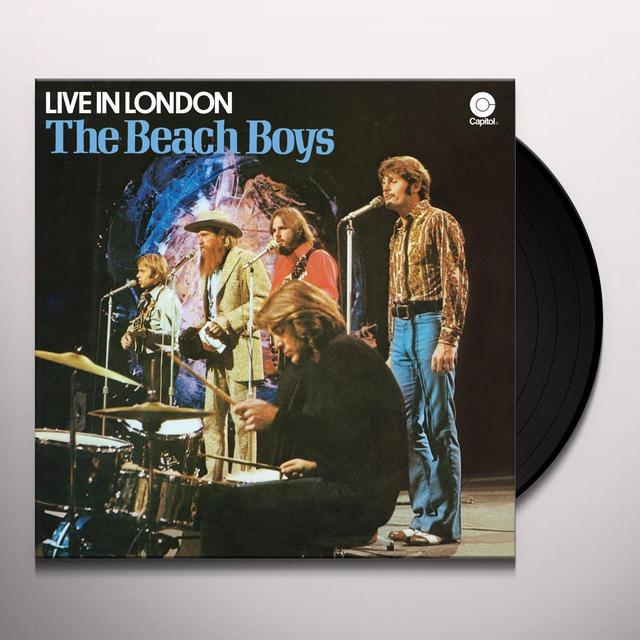 The Beach Boys LIVE IN LONDON Vinyl Record
