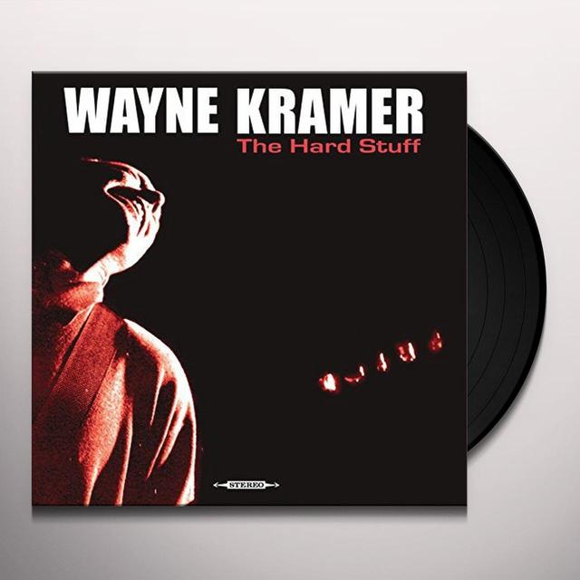 Wayne Kramer HARD STUFF Vinyl Record