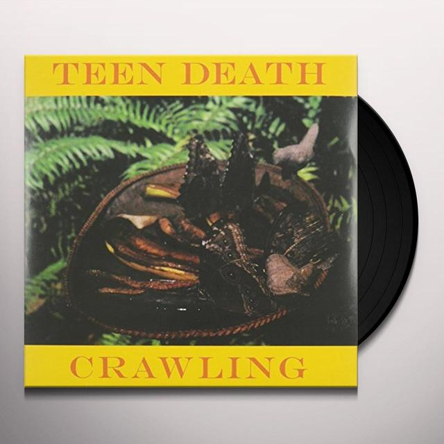 TEEN DEATH CRAWLING Vinyl Record