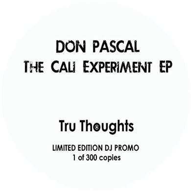 Don Pascal CALI EXPERIMENT Vinyl Record