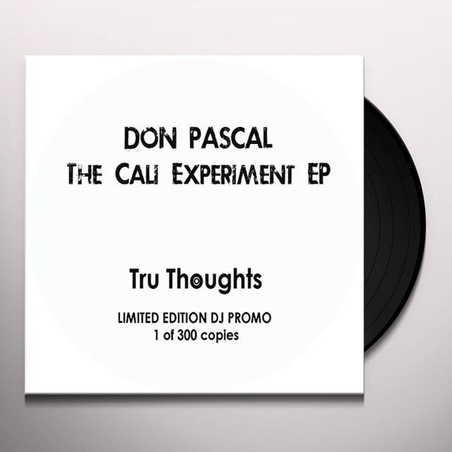 Don Pascal CALI EXPERIMENT Vinyl Record