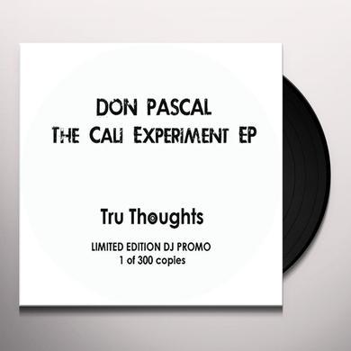 Don Pascal CALI EXPERIMENT (EP) Vinyl Record