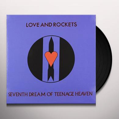Love & Rockets SEVENTH DREAM OF TEENAGE HEAVEN Vinyl Record - Limited Edition, 200 Gram Edition
