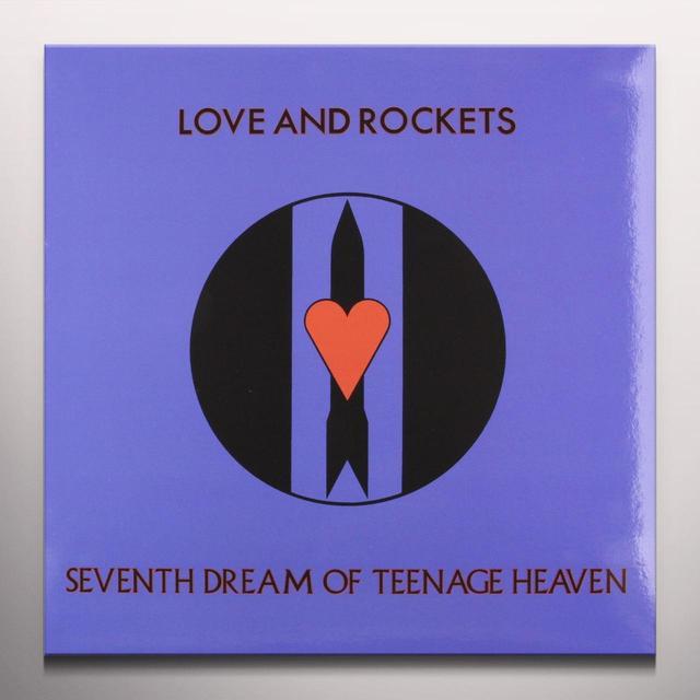 Love & Rockets SEVENTH DREAM OF TEENAGE HEAVEN Vinyl Record - Blue Vinyl, Limited Edition
