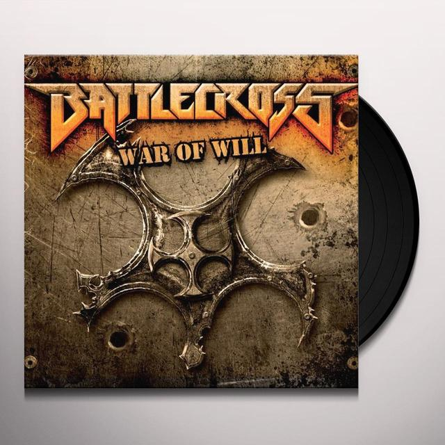 BATTLECROSS WAR OF WILL Vinyl Record - Picture Disc