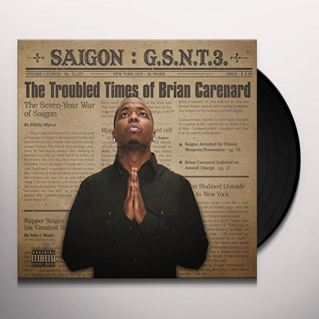 Saigon GSNT 3: THE TROUBLED TIMES OF BRIAN CARENARD (Vinyl)