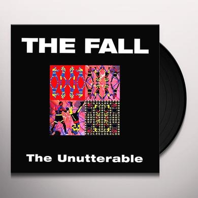 Fall UNUTTERABLE Vinyl Record - Limited Edition