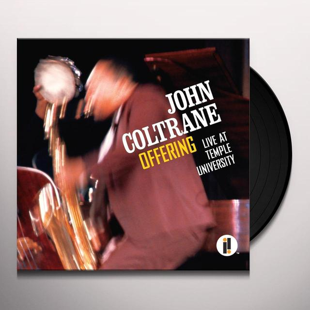 John Coltrane OFFERING: LIVE AT TEMPLE UNIVERSITY Vinyl Record