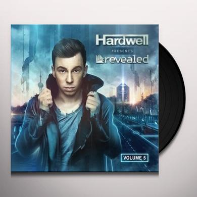 Hardwell REVEALED VOLUME 5 Vinyl Record - Holland Import