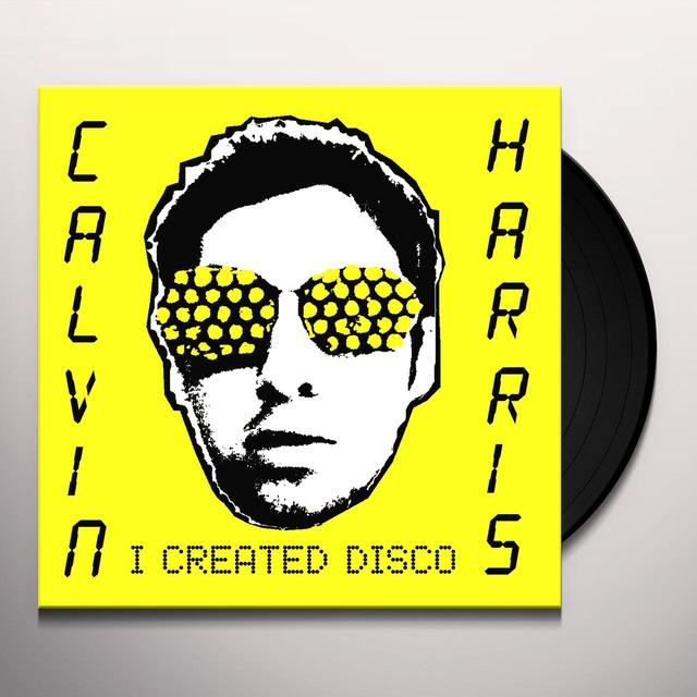 Calvin Harris I CREATED DISCO Vinyl Record - Holland Import