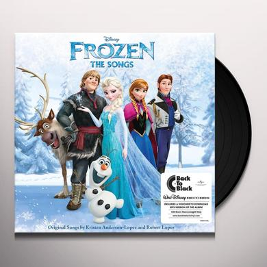 FROZEN: THE SONGS / VARIOUS Vinyl Record