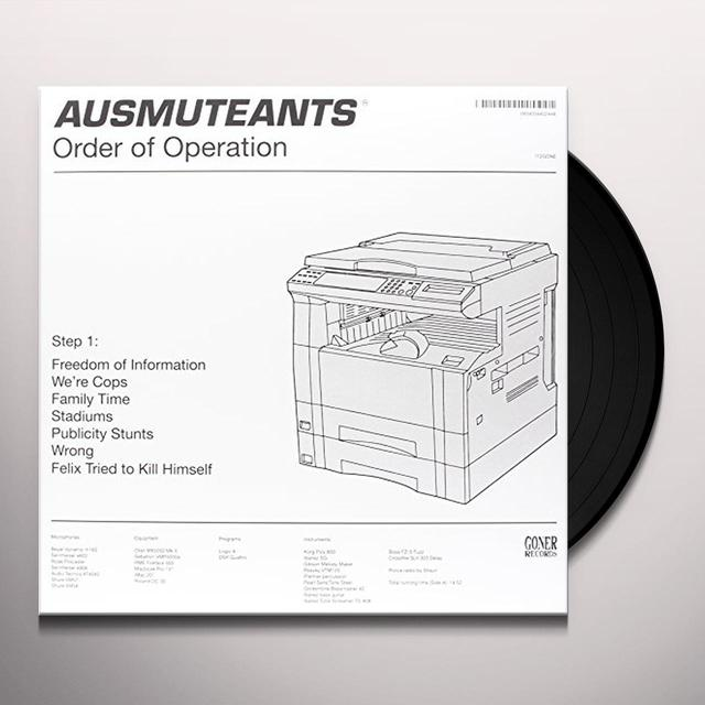 Ausmuteants ORDER OF OPERATION Vinyl Record