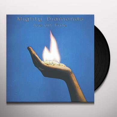 Mighty Diamonds ICE ON FIRE Vinyl Record