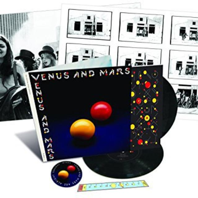 Paul McCartney And Wings VENUS & MARS Vinyl Record