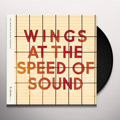 Paul McCartney And Wings AT THE SPEED OF SOUND Vinyl Record - Gatefold Sleeve