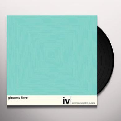Giacomo Fiore IV: AMERICAN ELECTRIC GUITARS Vinyl Record
