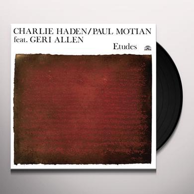 Charlie Hayden / Paul Motian ETUDES Vinyl Record - w/CD