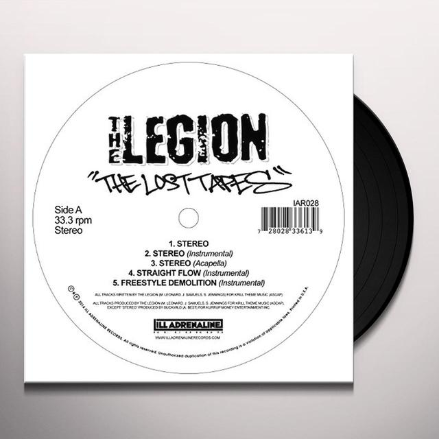 Legion LOST TAPES (EP) Vinyl Record