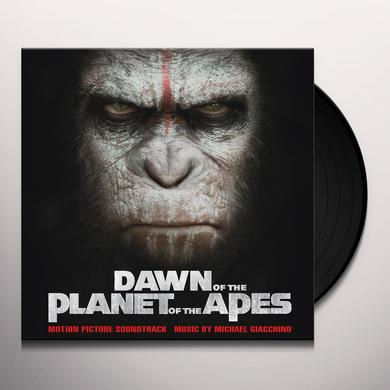 Michael Giacchino DAWN OF THE PLANET OF THE APES / O.S.T. Vinyl Record - Limited Edition