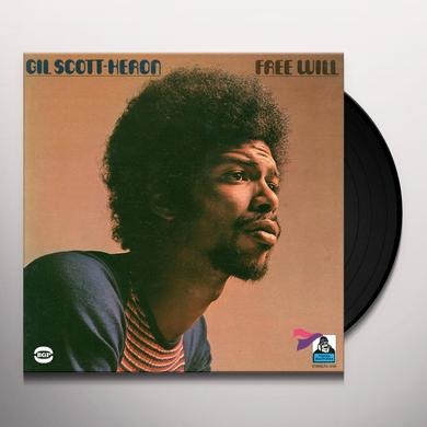 Gil Scott-Heron FREE WILL Vinyl Record