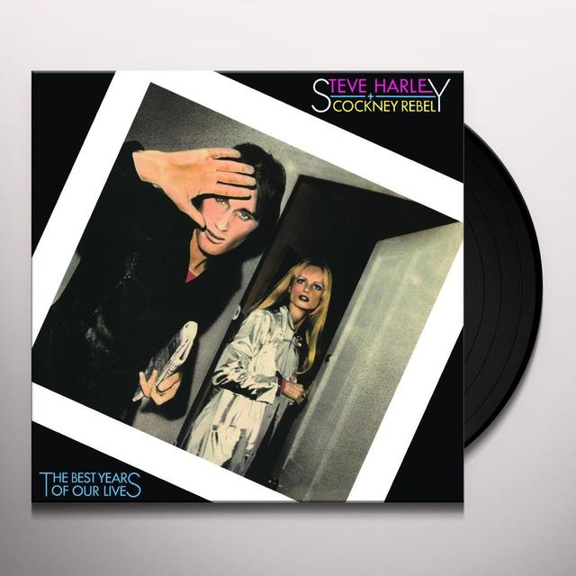 Steve Harley & Cockney Rebel BEST YEARS OF OUR LIVES Vinyl Record - Holland Import