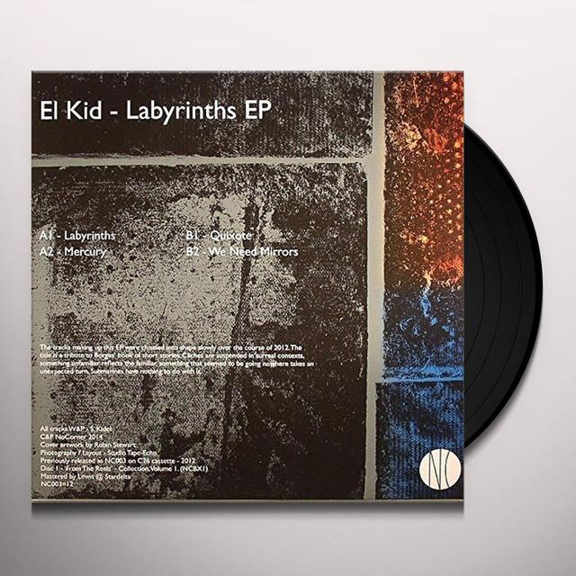El Kid LABYRINTHS EP Vinyl Record - UK Import