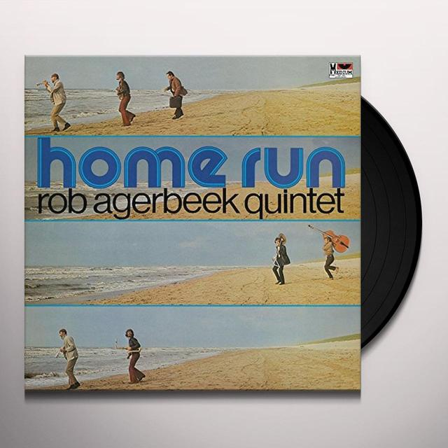 Rob Quintet Agerbeek HOME RUN Vinyl Record - UK Release