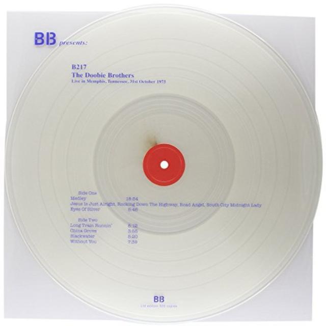 Doobie Brothers LIVE IN MEMPHIS TENNESEE 31ST OCTOBER 1975 Vinyl Record