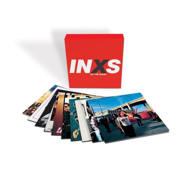 Inxs Limited Edition - Complete Works 1980 - 1997 10-LP Vinyl Box Set
