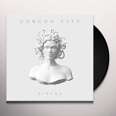 GORGON CITY ZAK ABEL SIRENS Vinyl Record - UK Import