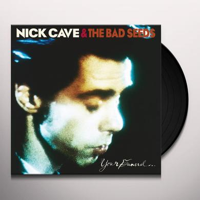 Nick Cave & The Bad Seeds YOUR FUNERAL MY TRIAL Vinyl Record - UK Import