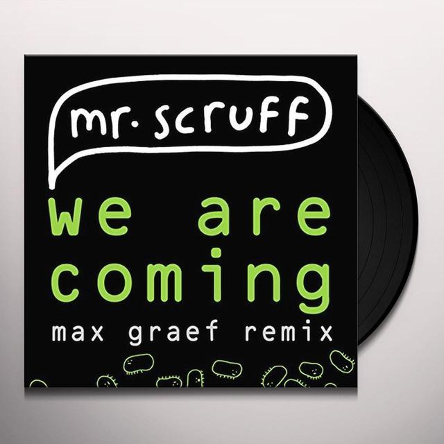Mr. Scruff WE ARE COMING/FEEL FREE (UK) (Vinyl)