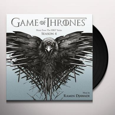 GAME OF THRONES SEASON 4 / O.S.T. (HOL) GAME OF THRONES SEASON 4 / O.S.T. Vinyl Record