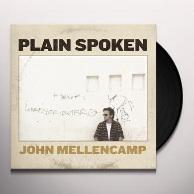 John Mellencamp PLAIN SPOKEN Vinyl Record