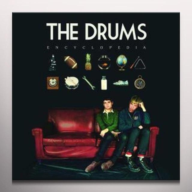 Drums ENCYCLOPEDIA Vinyl Record - Colored Vinyl, 180 Gram Pressing, Red Vinyl, Digital Download Included