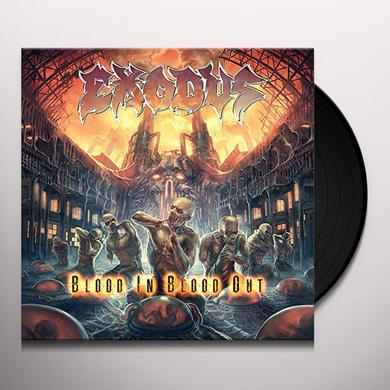 Exodus BLOOD IN BLOOD OUT Vinyl Record