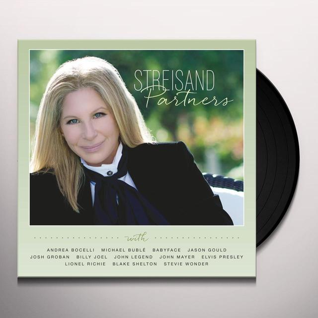 Barbra Streisand PARTNERS Vinyl Record - w/CD