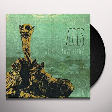 Aeges ABOVE & DOWN BELOW Vinyl Record - Gatefold Sleeve